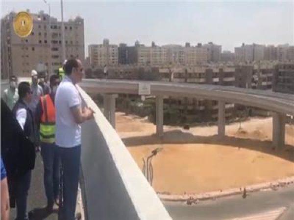 الرئيس السيسي يتفقد بعض المشروعات القومية بالقاهرة