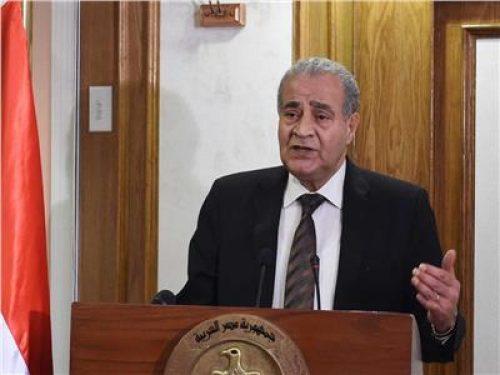 وزير التموين: صرف 97٪ من السلع التموينية للمواطنين عن شهر مايو الجاري