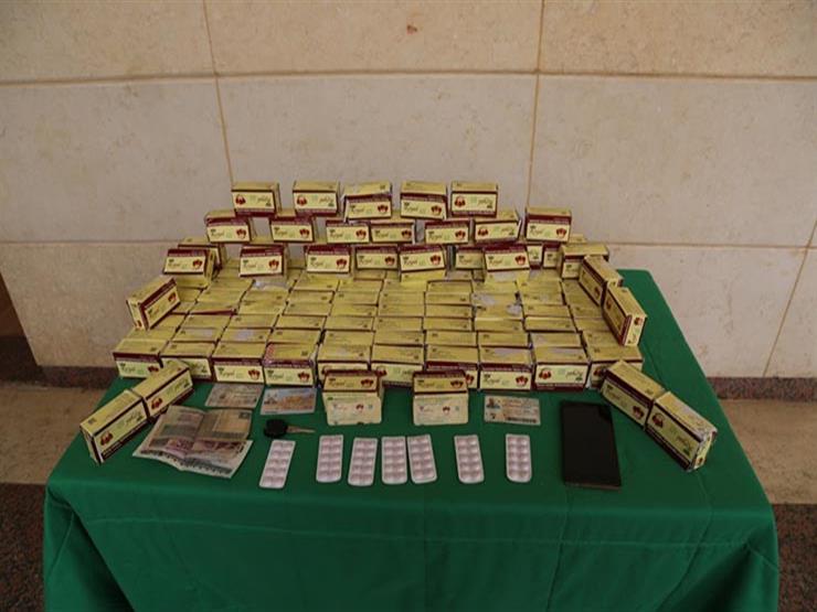 ضبط أحد العناصر الإجرامية وبحوزته 11 ألف قرص ترامادول بالجيزة بقيمة 920 ألف جنيه