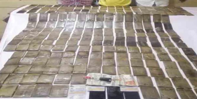 ضبط 3 تجار مخدرات بحوزتهم 200 طربة حشيش بقيمة 1.4 مليون جنيه