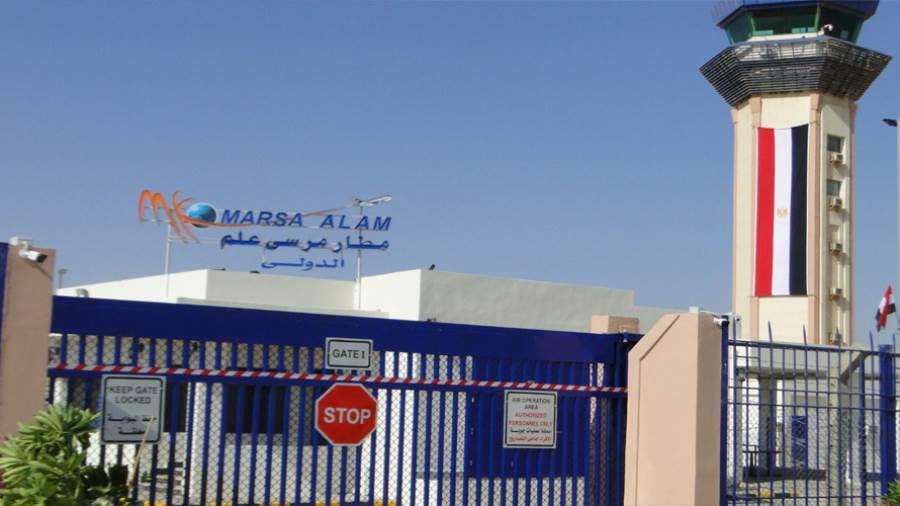 مطار مرسى علم يستقبل 311 مصريا من العالقين في كندا