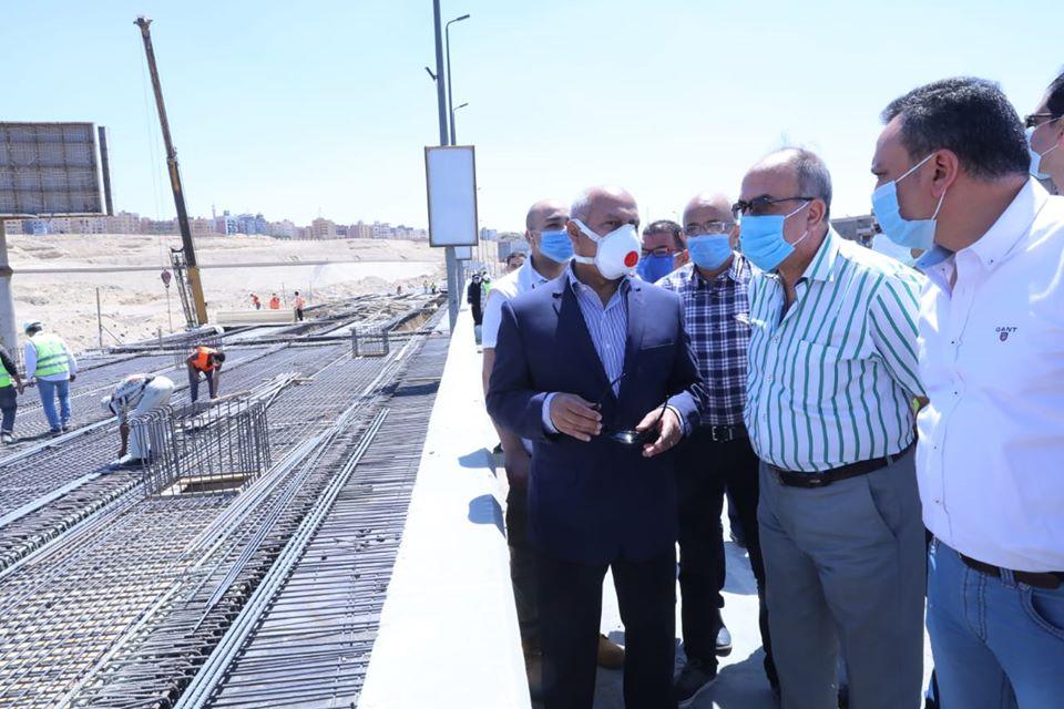 صور| وزير النقل يتابع أعمال التطوير والصيانة الشاملة للطريق الدائري حول القاهرة الكبرى