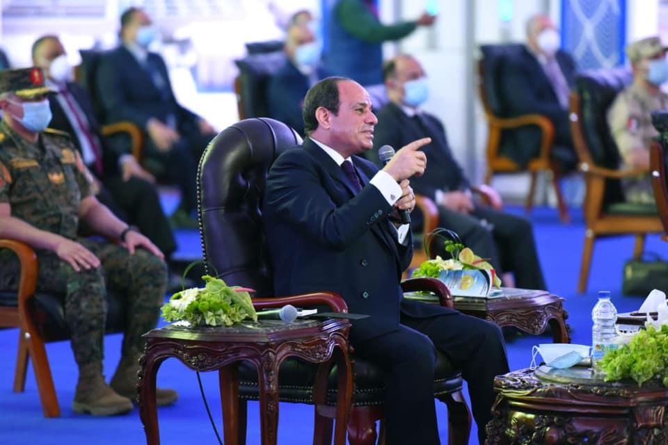 الرئيس السيسي : برنامج الاقتصاد الصعب والقاسى سر صمود الدولة أمام أزمة كورونا