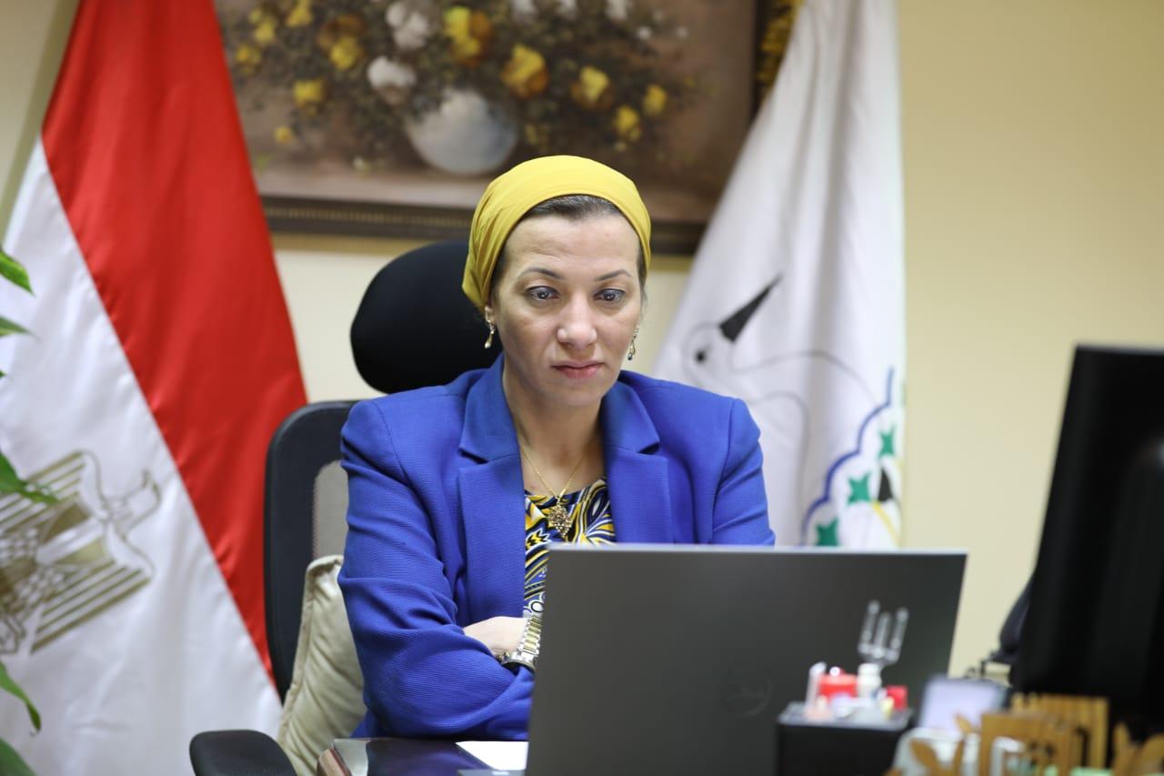 وزيرة البيئة : مصر تضع كل خبراتها للمساهمة في إيجاد حل لأزمة السفينة صافر