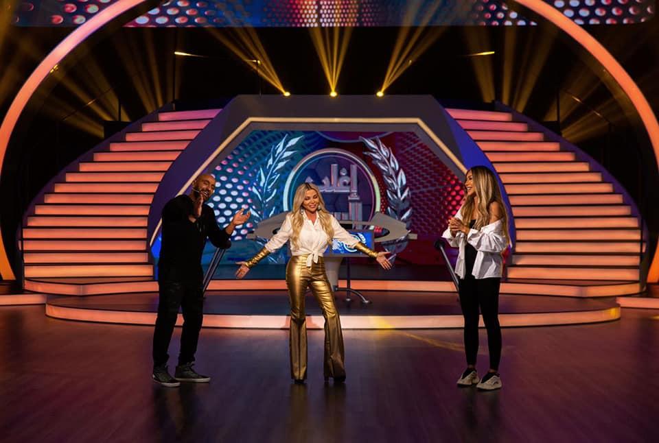 صور | مايا دياب ضيفة برنامج«إغلب السقا» الليلة على MBC مصر