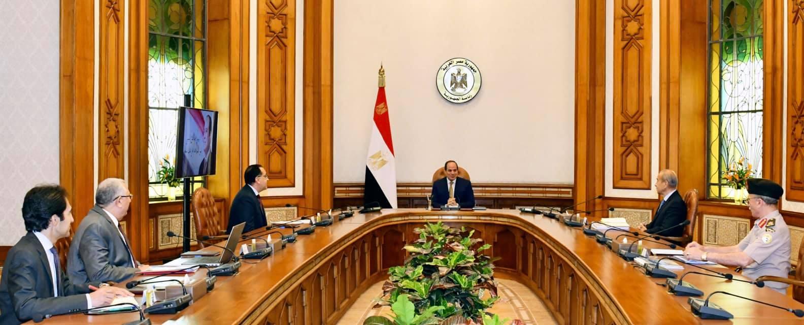 توجيهات الرئيس السيسي بتحقيق الاكتفاء الذاتي من المحاصيل تتصدر اهتمامات صحف القاهرة