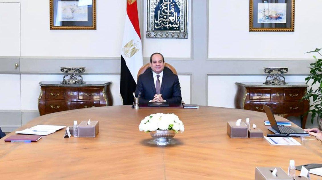 الرئيس السيسي يبحث تطورات عدد من المشروعات القومية الخاصة بوزارة الزراعة