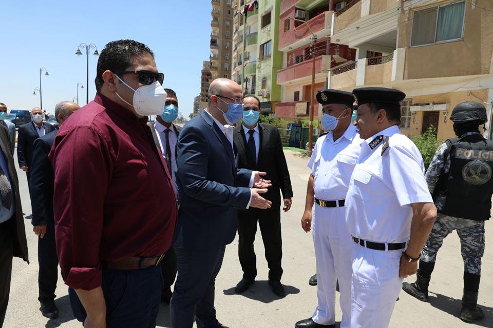 صور | محافظ بني سويف: غلق جميع الحدائق وطريق الكورنيش ومواقف السيارات