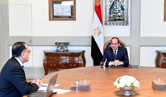 الرئيس السيسي يعقد اجتماعا لمتابعة جهود وزارة التعاون الدولى