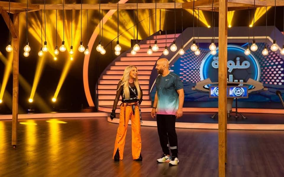 رزان مغربي في مواجهة السقا على MBC مصر الليلة