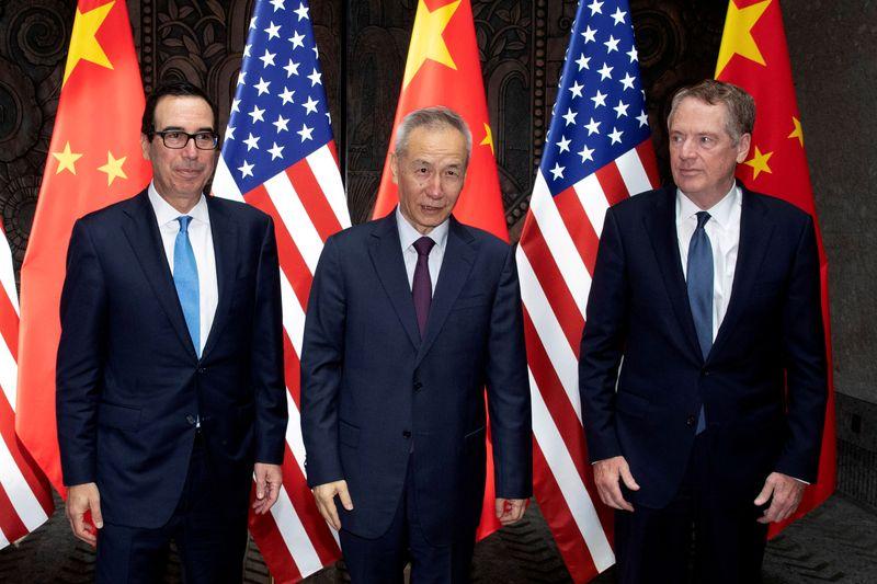 الصين وأمريكا تعقدان محادثات تجارية بشأن تطبيق اتفاق المرحلة واحد