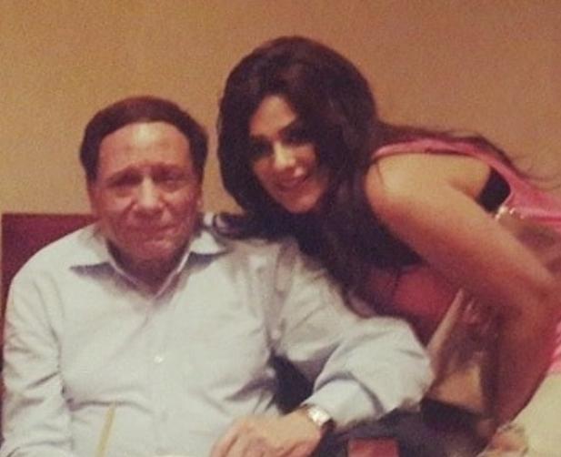 إنجي المقدم تهنئ الزعيم عادل إمام بعيد ميلاده