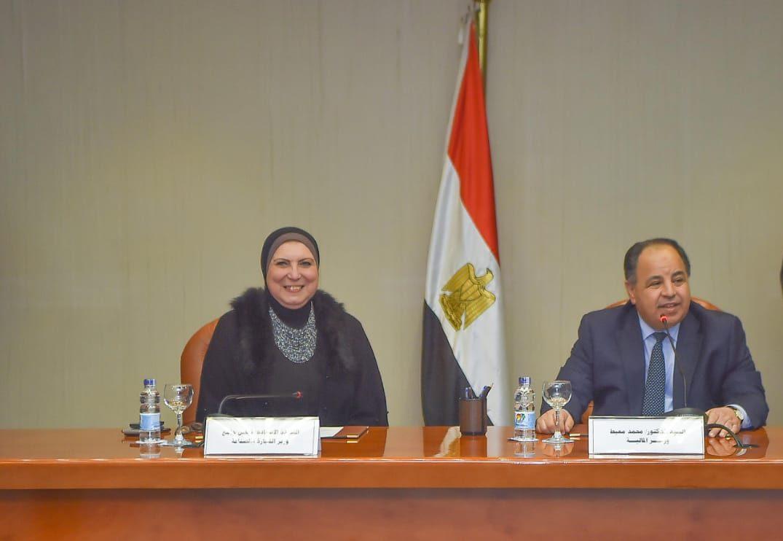 وزيرا المالية والتجارة : توقيع 41 اتفاقية تسوية جديدة للمستحقات التصديرية المتأخرة