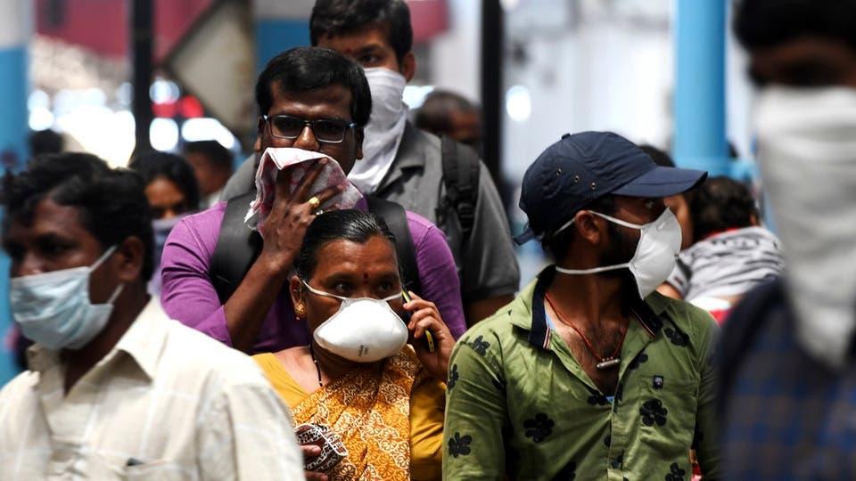 الهند تسجل ارتفاعا قياسيا يوميا فى وفيات كورونا