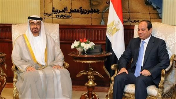 الرئيس السيسي ومحمد بن زايد يتبادلان التهاني بمناسبة عيد الفطر