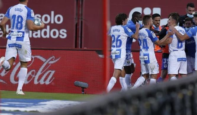 رودريجيز يخطف نقطة لفريقه ليجانيس أمام ريال مايوركا في الدوري الإسباني
