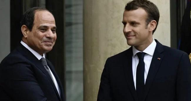 السيسي وماكرون يبحثان الجهود المصرية لحل الأزمة الليبية