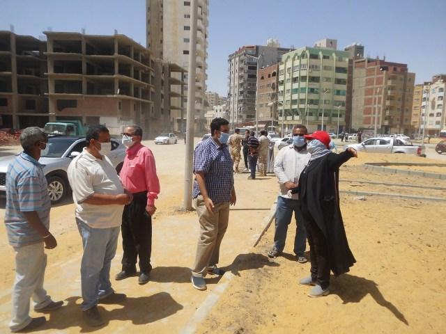 استكمال أعمال التطوير بأحياء محافظة السويس