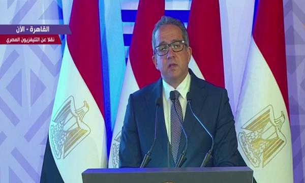 وزير السياحة: افتتاح قصر البارون يؤكد حرص مصر على تراثها وحضارتها