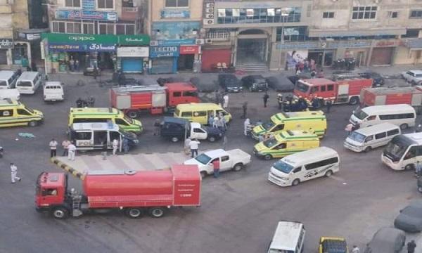 مصرع 7 مرضى جراء حريق فى مستشفى بالإسكندرية