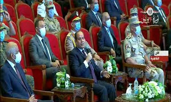 الرئيس السيسى: محتاجين تريليونات الجنيهات لحل كل المشاكل