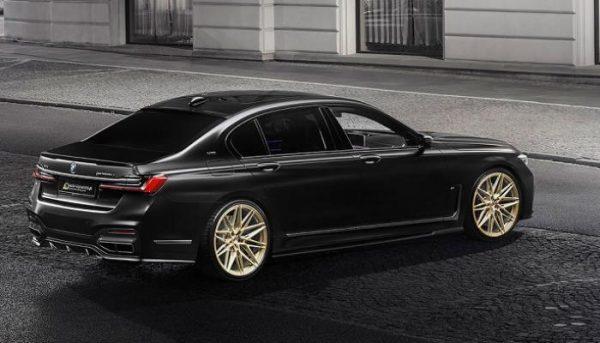 بجنوط ذهبية.. شركة بولندية تطرح طراز جديد من السيارة بي إم دبليو