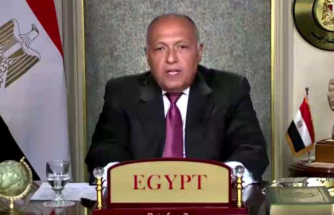 نص كلمة سامح شكرى بمجلس الأمن بشأن أزمة سد النهضة