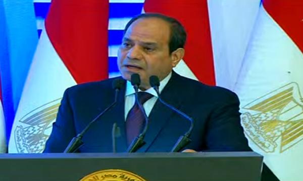 الرئيس السيسى: ماضون على عهدنا.. ولن نفرط فى حقوقه