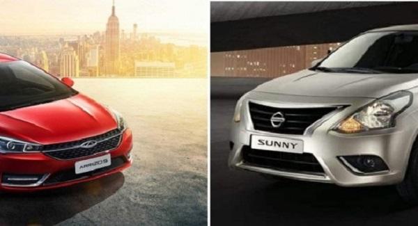نيسان وشيري تتصدران مبيعات السيارات المجمعة محلياً حتي أبريل الماضي