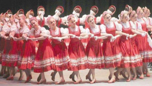 موسييف للفنون الشعبية الروسية في قناة وزارة الثقافة المصرية أونلاين