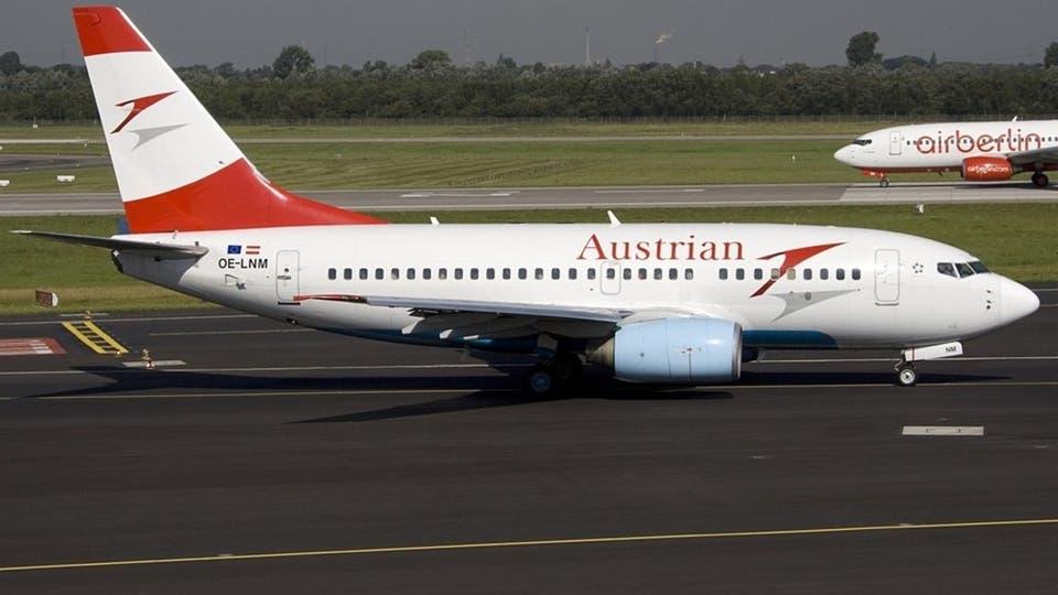 الخطوط الجوية النمساوية تستأنف رحلاتها بطاقة تشغيل 5 %