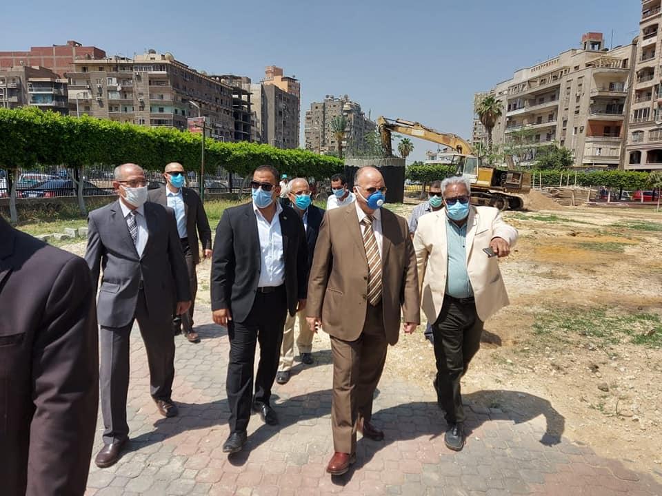 صور | محافظ القاهرة يتفقد أعمال التطوير الجارية بالمنطقة الشرقية
