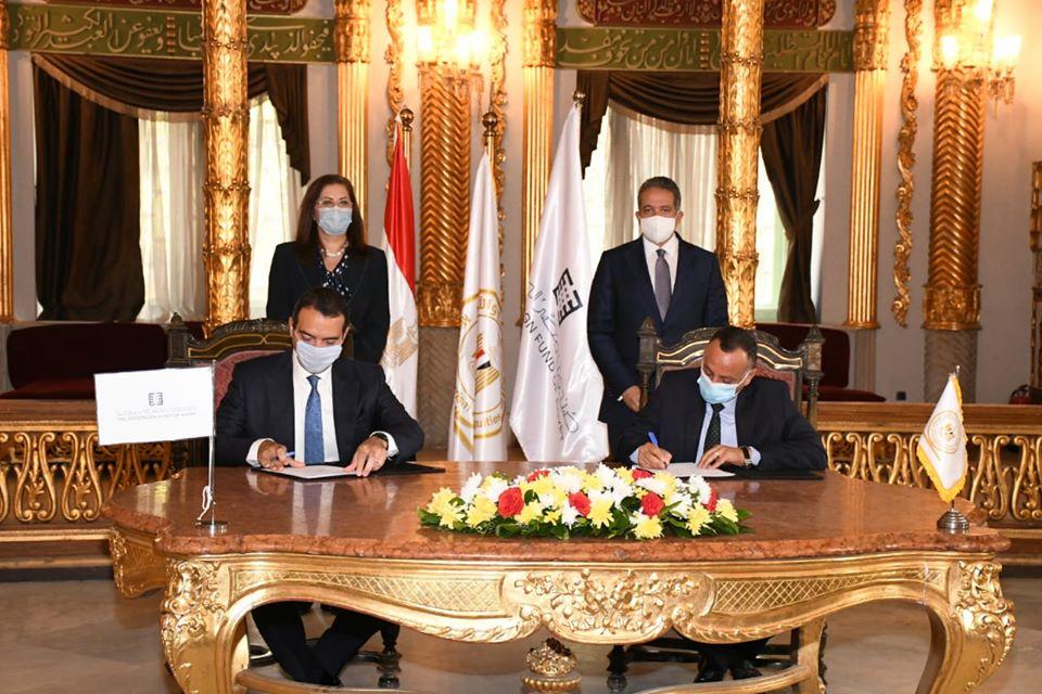 «الأعلى للآثار» يتعاقد مع صندوق مصر السيادى لتطوير منطقة باب العزب بقلعة صلاح الدين