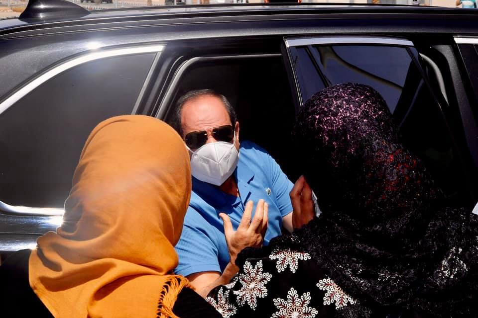الرئيس السيسي يتفقد مشروع الأسمرات 3 وقانون مجلس النواب أبرز اهتمامات الصحف المصرية