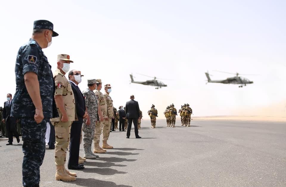 الرئيس السيسي : سرت والجفرة في ليبيا بالنسبة لنا خط أحمر