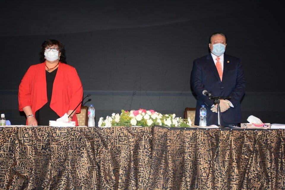 صور | وزيرة الثقافة تعلن جوائز الدولة التشجيعية
