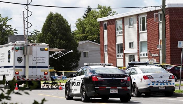 الشرطة الكندية تضبط 11 شخصا أعقاب مظاهرة بسبب مقتل جورج فلويد