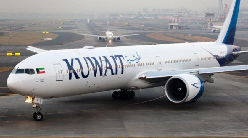 الطيران الكويتى : 1015 عالقا مصريا يغادرون إلى 3 محافظات عبر 6 رحلات