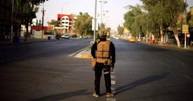 خلية الأزمة العراقية تقرر فرض حظر شامل للتجوال بمحافظة كركوك