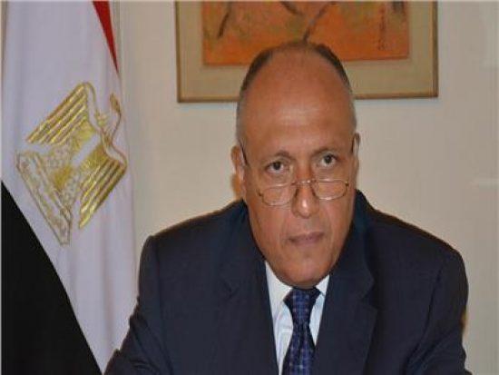 وزير الخارجية يبحث مع نظيره الروسي تطورات الأوضاع في ليبيا