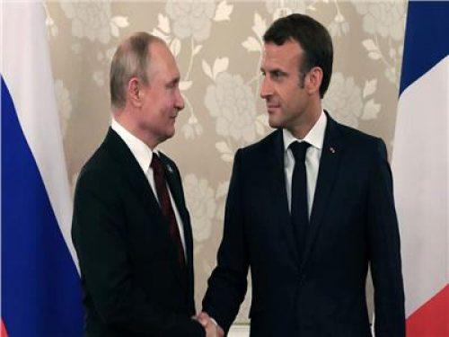 بوتين وماكرون يدعوان لوقف إطلاق النار في ليبيا