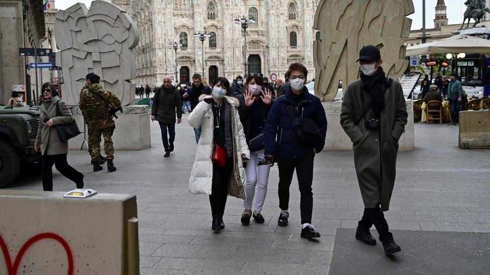 إيطاليا تسجل أدنى زيادة لوفيات كورونا منذ فبراير الماضى
