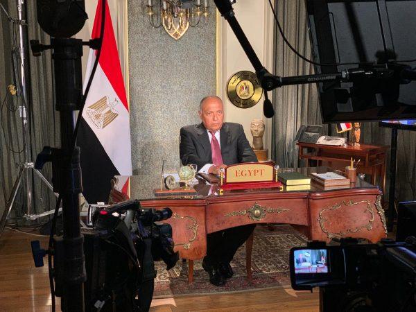 وزير الخارجية: مصر أبدت مرونة كبيرة بمفاوضات سد النهضة