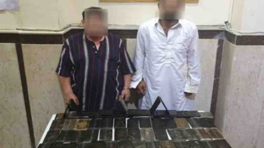 ضبط 70 طربة حشيش بقيمة نصف مليون جنيه بالإسكندرية