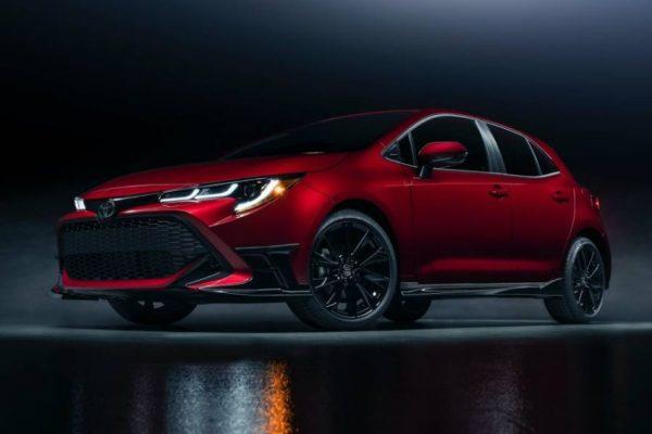 تويوتا تكشف النقاب عن نسخة هاتشباك خاصة من Corolla