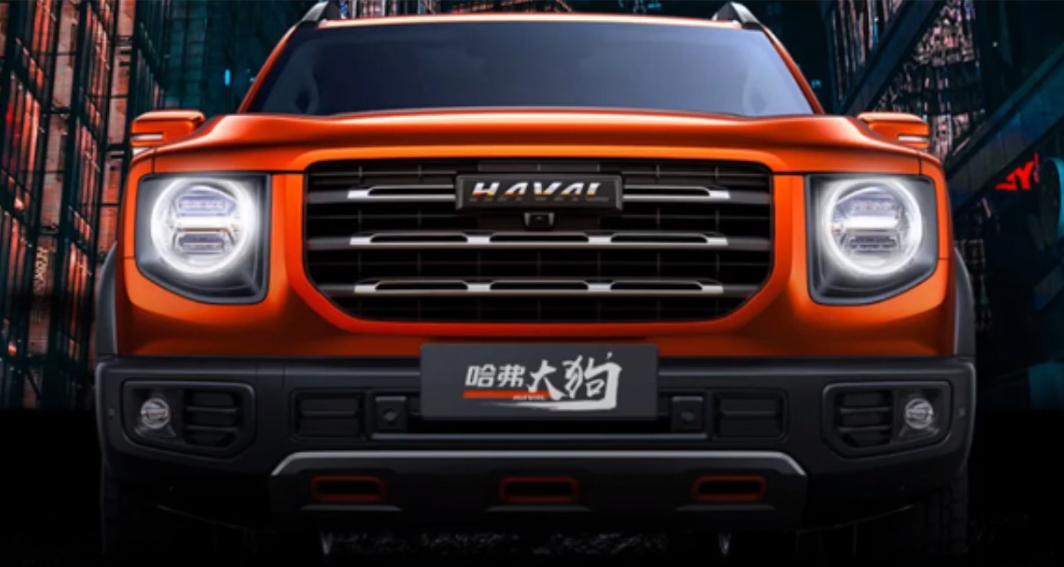 صور | شركة Haval الصينية تستعدللكشف عن سياراتها الجديدة B06رباعية الدفع