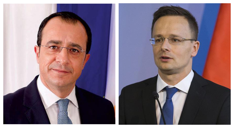 وزيرا خارجية قبرص والمجر يبحثان فى نيقوسيا الوضع فى شرق المتوسط