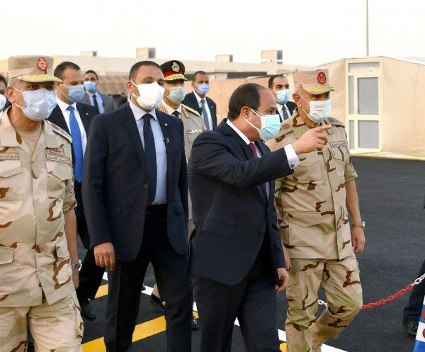 المتحدث العسكري ينشر أول فيديو لمستشفى عزل القوات المسلحة