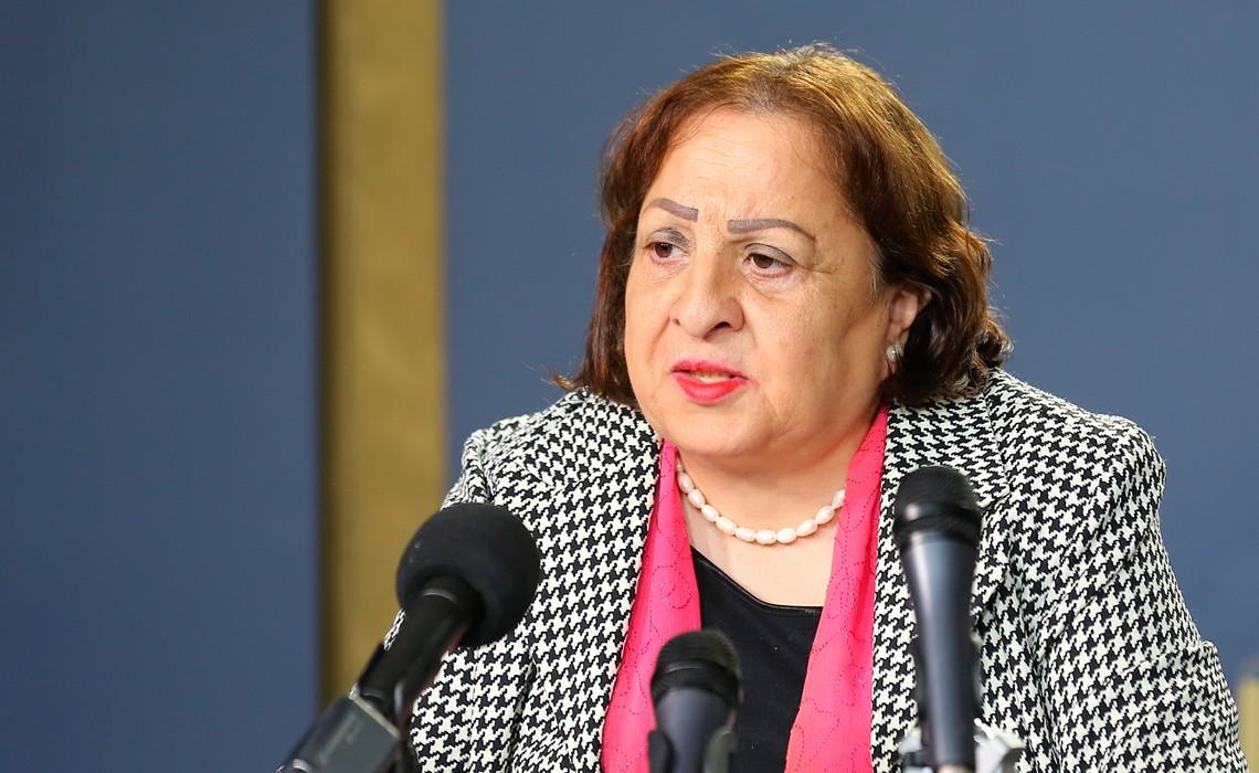 """وزيرة الصحة الفلسطينية يعلن دخولها في موجة ثانية من جائحة """"كورونا المستجد"""""""
