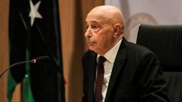 عقيلة صالح يصل المغرب لبحث الأزمة الليبية